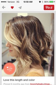 this color is amazing... short hair ombre is cute!!!!