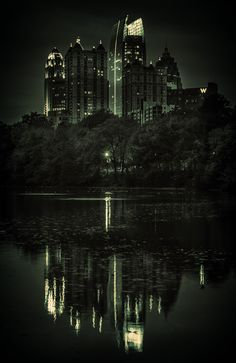 "500px / Photo ""Atlanta at night"" by Marc Perrella follow http://pinterest.com/ahaishopping/"
