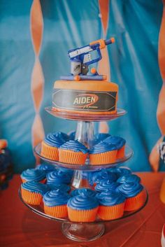 Nerf Birthday Party Ideas | Photo 1 of 61