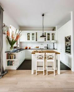 Дизайн классической кухни с островом. - Дизайн интерьеров | Идеи вашего дома | Lodgers