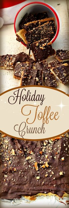Holiday Toffee Crunch Surprise, Recipe Treasures