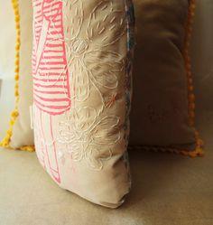 Tissu fille doudou fille de tissu poupée par AbracadabraAndStuff