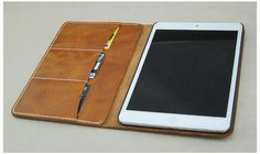 The Handmade Leather Wallet iPad Mini Case - Ipad Mini - Ideas of Ipad Mini - The Handmade Leather Wallet iPad Mini Case Ipad Air 2 Cases, Ipad Mini Cases, Ipad Case, Laptop Case, Phone Cases, Apple Watch Iphone, Handmade Leather Wallet, Iphone Wallet, Iphone 7