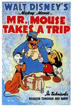 Mr. Mouse Takes A Trip (1940)    Copyright Walt Disney.