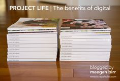 The Benefits of Digital Project Life: Scrapaholics blog (lots of info on digital scrapping)