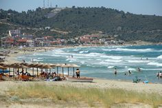 Sarti Chalkidiki Greece by babiskol Amazing Places, Beautiful Places, Buyers Guide, Greece Travel, Places Ive Been, Tourism, Dolores Park, Traveling, Boat
