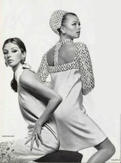 1966 dresses  Christian Dior  and Philippe Venet