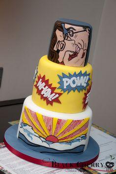 Roy Lichtenstein Pop Art Cake