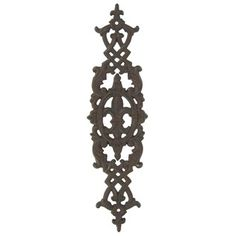 Brown Fleur-De-Lis & Swirl Wall Decoration | Shop Hobby Lobby  15.5 Tall x 4.25 Wide x 1 Thick