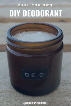 Diy Deodorant, Make Your Own Deodorant, Deodorant Recipes, Natural Deodorant, Diy Bathroom, Light Bathroom, Bathroom Faucets, Bathroom Ideas, Diy Casa