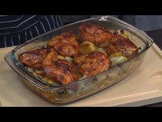 Wyjątkowy przepis na obiad ! zapiekany filet z kurczaka /Oddaszfartucha - YouTube