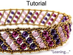This free beaded bracelet pattern uses Swarovski crystal beads and glass cube beads to make a sleek and sparkling cuff bracelet. Description from pinterest.com. I searched for this on bing.com/images