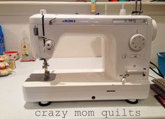 CMQ Juki discontinued model that is replaced by the Longarm Quilting, Quilting Tips, Machine Quilting, Quilting Projects, Crazy Mom, Juki, My Sewing Room, Janome, Furniture Arrangement