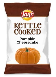 Wouldn't Pumpkin Cheesecake be yummy as a chip? Lay's Do Us A Flavor is back, and the search is on for the yummiest chip idea. Create one using your favorite flavors from around the country and you could win $1 million! https://www.dousaflavor.com See Rules.