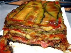 Paleo Diet 97042 Zucchini, ham and mozzarella terrine ~ Happy taste buds Zucchini, Healthy Dinner Recipes, Cooking Recipes, Tomate Mozzarella, Mozarella, Fast Food, Paleo Diet, Casserole Recipes, Love Food