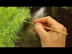 Paisaje Pintura acrílica lección - Mañana en el lago por JmLisondra - YouTube