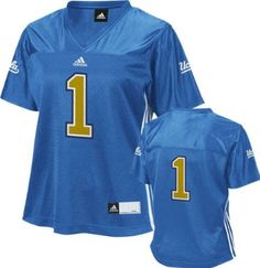 Activewear Clever Ucla Bruins #1 Adidas Football Jersey Large Clothing, Shoes & Accessories
