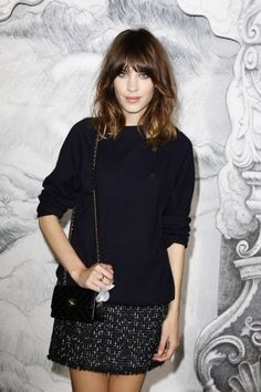 Au premier rang du défilé Chanel haute couture