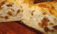 Pão de Torresmo, lanches deliciosos da Ana Maria, você só encontra aqui como esse pão de torresmo.