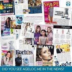 บลอกโพสตใหม: Take a look at some of the many magazines ageLOC Me has been highlighted in this past. Nu Skin Ageloc, Galvanic Spa, Manicure Y Pedicure, Dream Team, Anti Aging Skin Care, My Beauty, Past, Highlights, Take That