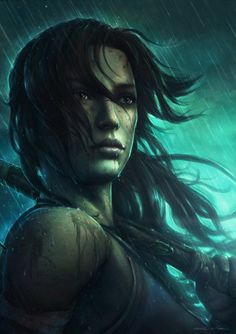 Arts of the Tomb Raider : Portrait : Gamekyo is a social video game magazine for the Wii, Nintendo DS, PlayStation PlayStation PSP, Xbox 360 and PC. Arts of the Tomb Raider : Portrait Tom Raider, Tomb Raider 2013, Tomb Raider Lara Croft, Laura Croft, Rise Of The Tomb, Fanart, Before Us, Female Characters, Digital Illustration