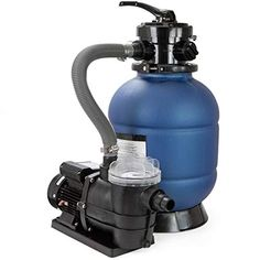 XtremepowerUS 13 in. 2400 GPH Sand Pool Filter Valve System with HP Above-Ground Pump with Stand Above Ground Pool Pumps, Above Ground Swimming Pools, In Ground Pools, Outdoor Pool Shower, Polymeric Materials, Pool Sand, How To Clean Crystals, Stock Tank Pool, Spa Water