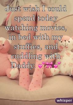 Cuddles and disney movies in my pink tutu << yes pwease .o. me too cx