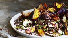 Roast beetroot are the stars of this salad.