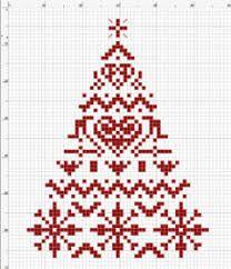 Afbeeldingsresultaat voor cross stitch christmas minis