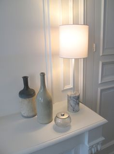 ISI lampe à poser Hauteur 55cm Marbre Carrare Arabescato. ISI Table lamp Total Height 55cm - 21,65 inches. Carrara Arabescato marble. www.dayglow.fr Marble Collection, Marble Lamp, Day Glow, Carrara, Table, France, Living Room, Lighting, Design