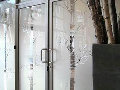Sunderella glass decor, window frosting, mirror decals