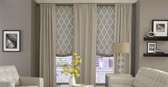 roman shades for large windows