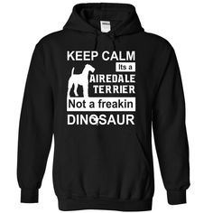 Airedale terrier T Shirts, Hoodies. Check price ==► https://www.sunfrog.com/Names/Airedale-terrier-Black-71184975-Hoodie.html?41382 $39