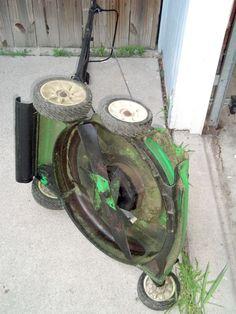 Sharpening a Lawn Mower Blade
