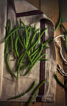 Wistfully Country, green beans by asri. on Flickr.