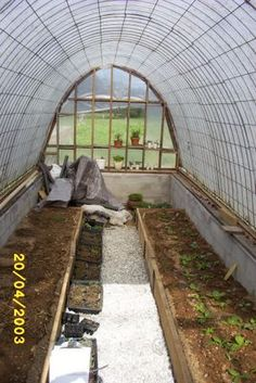 In My Kitchen Garden: Looking Back: Building a Simple, Inexpensive, Homemade Greenhouse - Another!