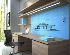 Designing a home office is an evolving discipline. It's a combination of ergonomics, technology and aesthetics. I believe the best design should be adaptable because technology seems to reinv…