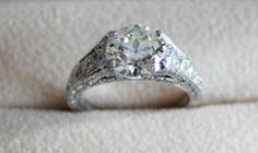 antique wedding rings are so one of a kind