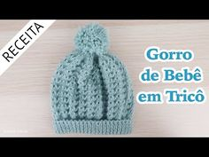 Knitted Hats, Crochet Hats, Winter Hats, Knitting, Creative, Youtube, Babies, Knitted Baby Clothes, Crochet Baby Dresses