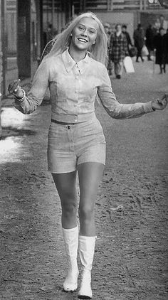 A very young Agnetha from Abba!  Your era? Preserve your memories at http://www.saveeverystep.com