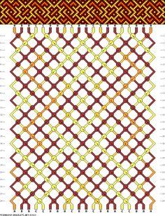 20 strings, 4 colors, 24 rows