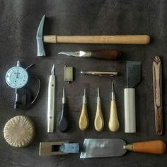 Cleaning day #leatherwork #tools #leathertools #vergezblanchard