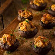 Carrabba's Copycat Stuffed Mushrooms