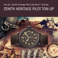 Zenith Heritage Pilot Cafe Racer edition