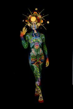 El Arte de pintar cuerpos ( apto )