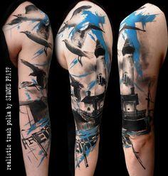 +++ trash polka + the original ++tattoo by +++ SimOne Pfaff +++Volko Merschky Buena Vista Tattoo Club - Würzburg/Germany