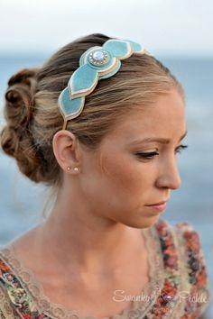 Best wedding beach diy feet jewelry 55 ideas - Pin This Felt Hair Accessories, Wedding Hair Accessories, Felt Headband, Baby Headbands, Vintage Veils, Felt Necklace, Felt Fabric, Gifts For Teens, Felt Flowers