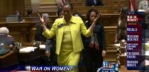 The 'War on Women': Female senators walk out in protest of controversial bills #examinercom