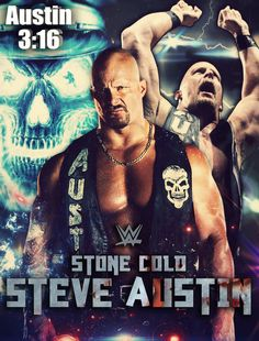 0f239d096b4587 WWE Stone Cold Steve Austin Poster by ShahzamanAbbasi
