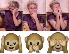 Niall as emojis